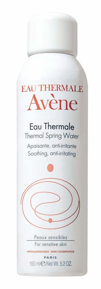"""Frescor diário:  """"Gosto da sensação refrescante que a água termal da Avène deixa na pele. Uso assim que acordo"""""""