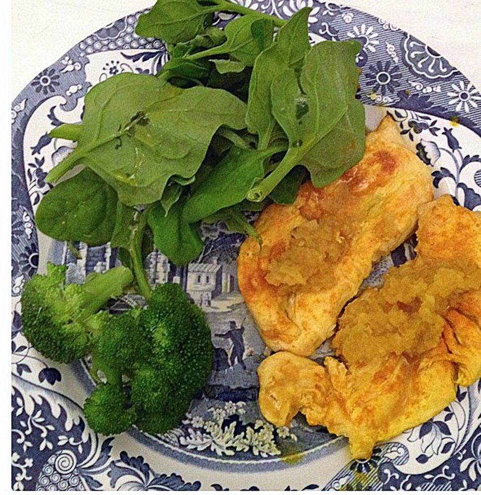 Estão todas as refeições que a doutora em biotecnologia Ana Carolina de Carvalho fez em cinco dias. A alimentação saudável a fez perder 36 quilos
