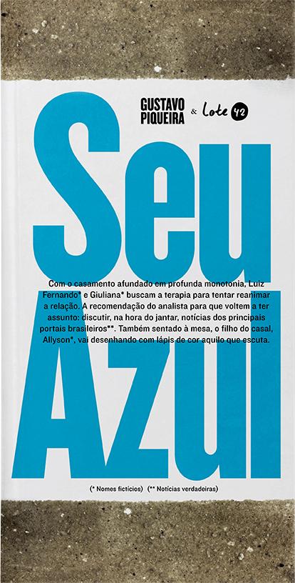Seu Azul, de Gustavo Piqueira