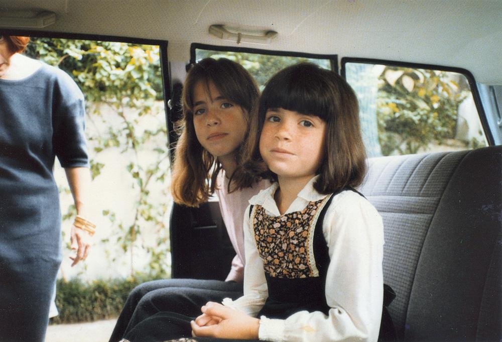 Com a irmã