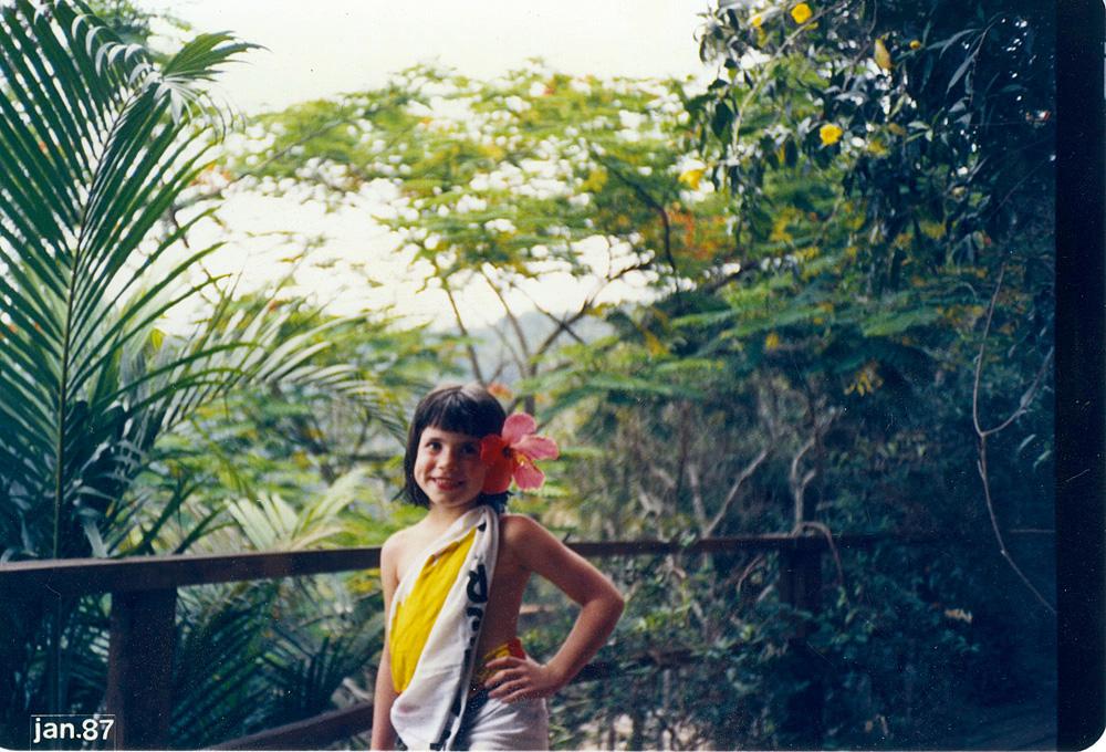 Posando no litoral norte de São Paulo