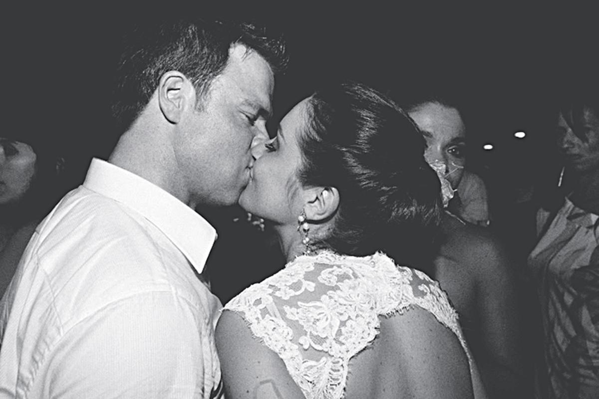 Casamento com Rob em 2012