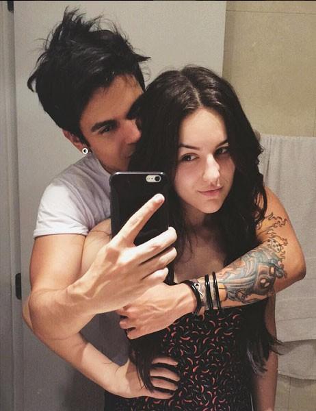 Kéfera e seu namorado, Gusta, também Youtuber