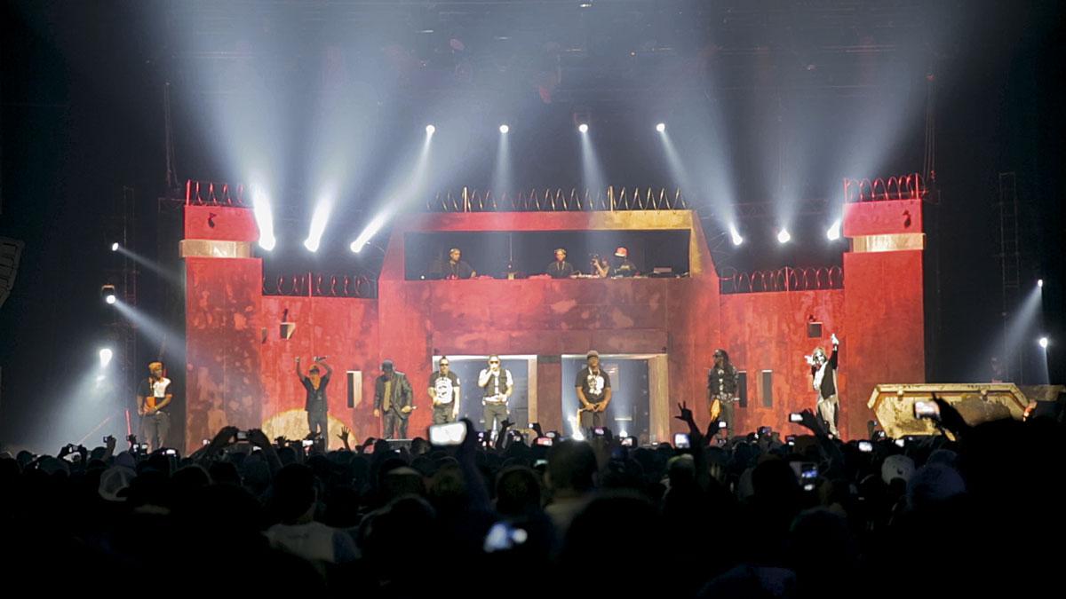 Show do Racionais MC's no Espaço das Américas, em São Paulo, em 2014