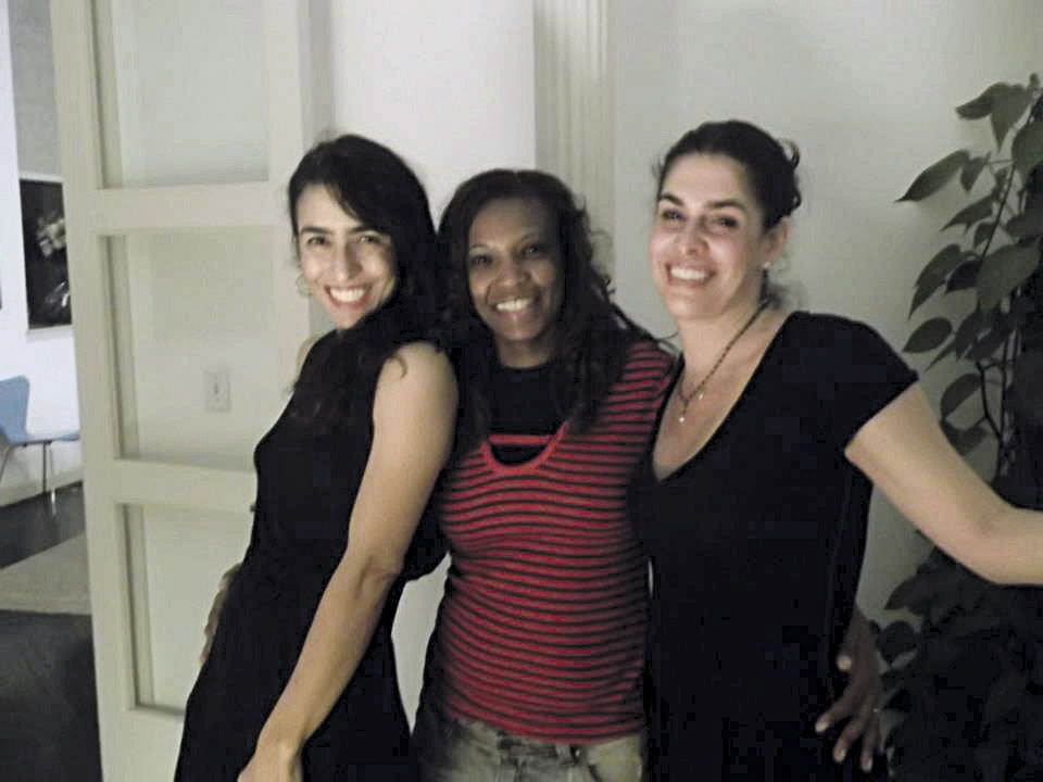 Com Marisa Monte e Paula Lavigne