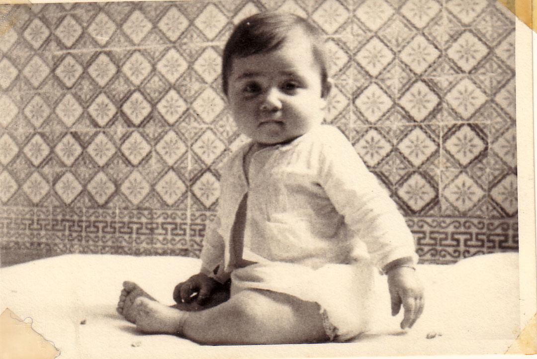 Bebê, em 1964