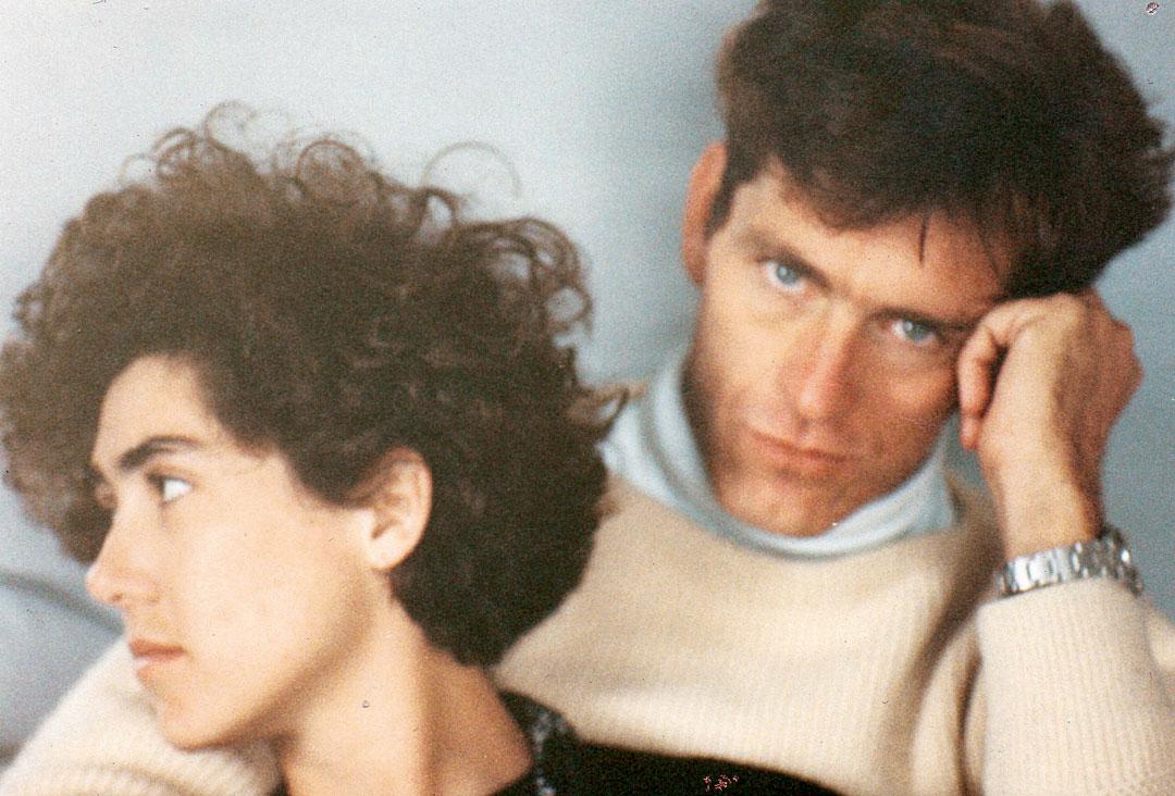 Com Ingo Thouret em Nova York, 1986