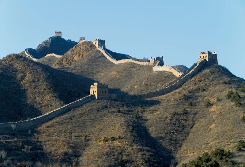 Muralha da China: atenção para a subidinha de 7 mil quilômetros