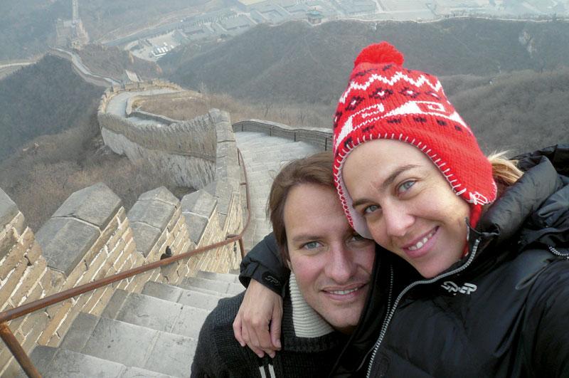Flavia, João e a Muralha da China