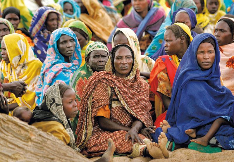 Crianças e mulheres de Darfur: as maiores vítimas