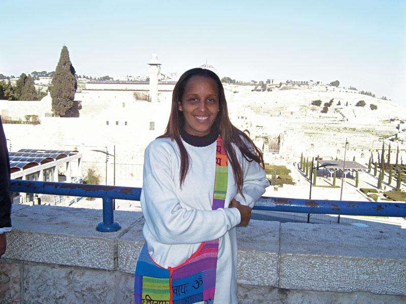 Em Israel, mês passado, onde fez um curso de policiamento comunitário em Beit Berl e deu palestra sobre a experiência no Dona Marta