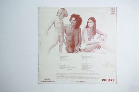 Contracapa de Jóia (1975)