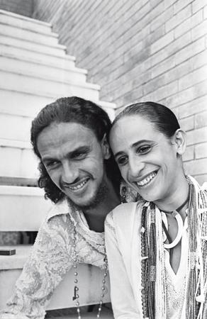 Com Maria Bethânia