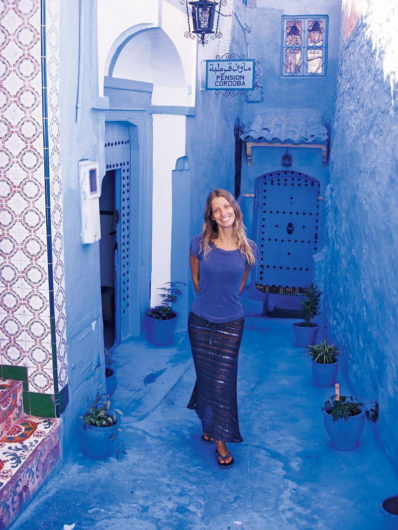 Chefchaouen: cidade azul nas montanhas marroquinas