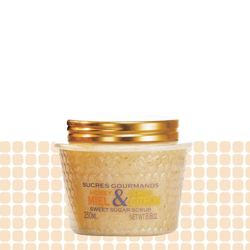 L'Occitane Sucres Gourmands, R$ 85: com mel e limão. Indicado para uma esfoliação mais suave. L'Occitane 0800-171272