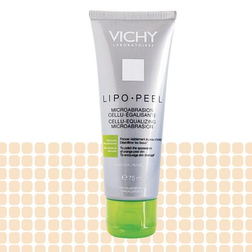 Vichy Lipo-Peel, R$ 71: reduz a celulite nas regiões do quadril, culote e cintura. Vichy 0800-7011552
