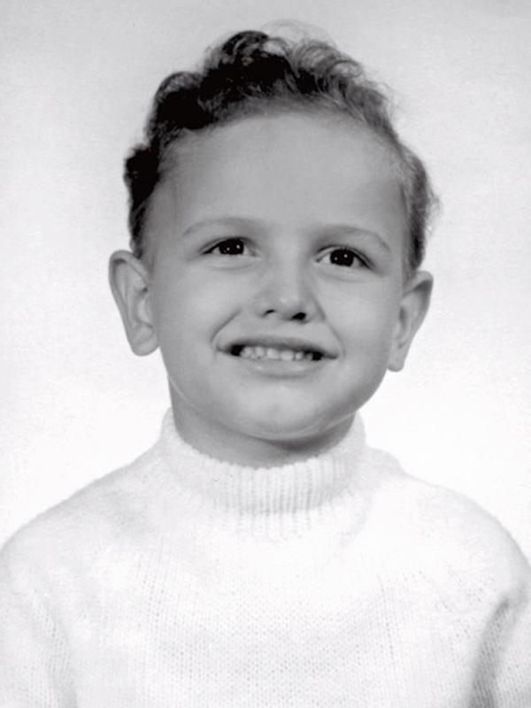 João Baptista, o filho adotivo de dona Lily, aos 3 anos (ele foi adotado com 1 ano e meio)