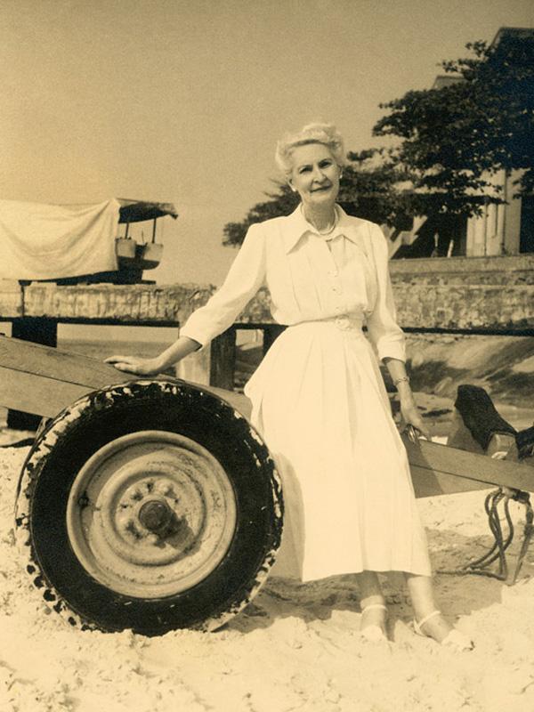 """Sua mãe, Jeanne Bergeon, em Paris: """"Ela era uma grande amiga"""""""