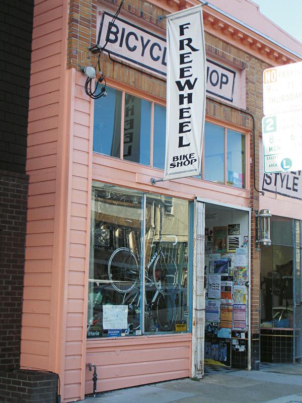 Oficina de bicicletas, Freewheel