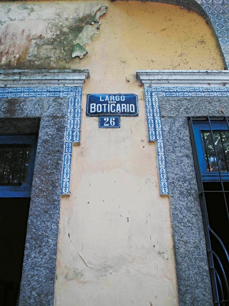 Largo do Boticário, Cosme Velho