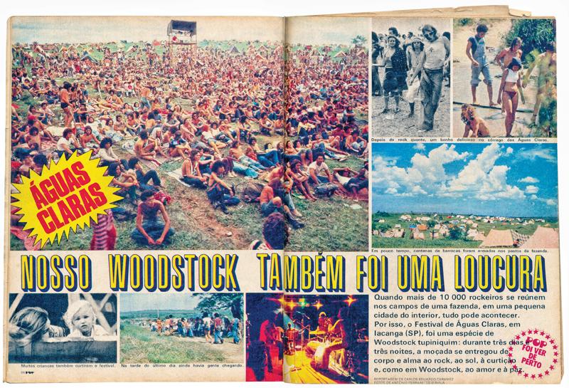 Especial sobre o festival na Pop, revista de comportamento jovem extinta em 1979