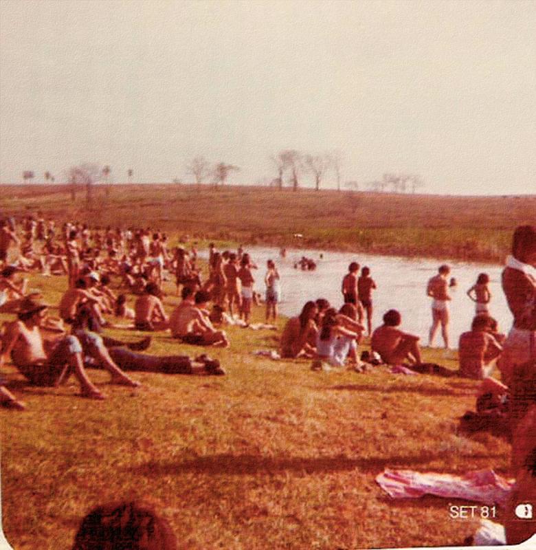 Lagoa azul: o banho era no lago e as vestes, mínimas
