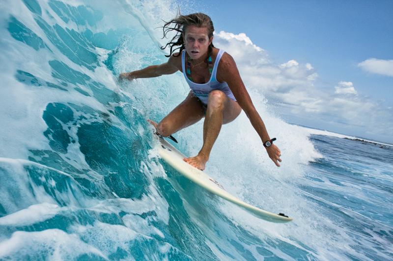 Brigitte: a idealizadora da surf trip