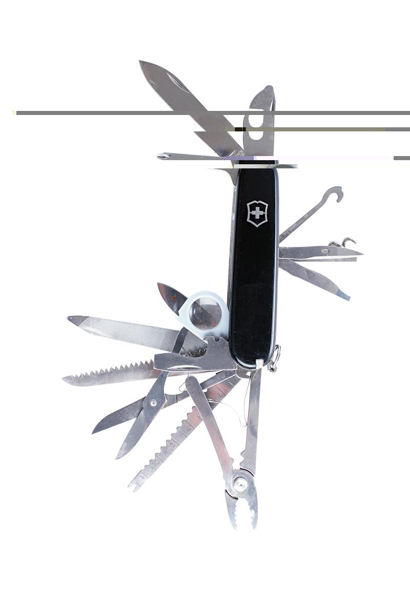 12. Canivete - Quando viajo para minha casa na serra da Bocaina, uso para cortar o mato que invade as trilhas