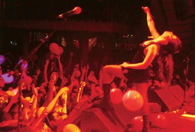 No Circo Voador, Rio, em 2008:  Meu público é incrível