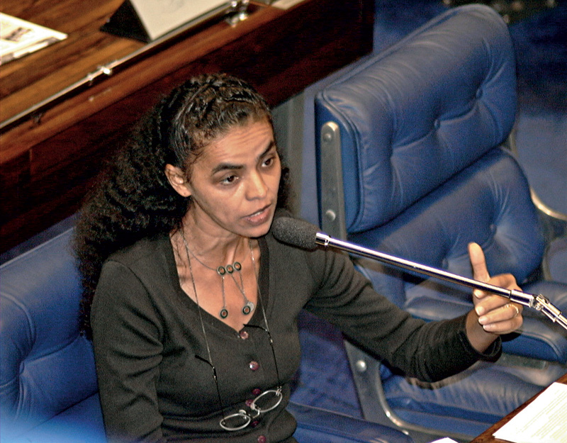 No Senado, em 1998, aos 40