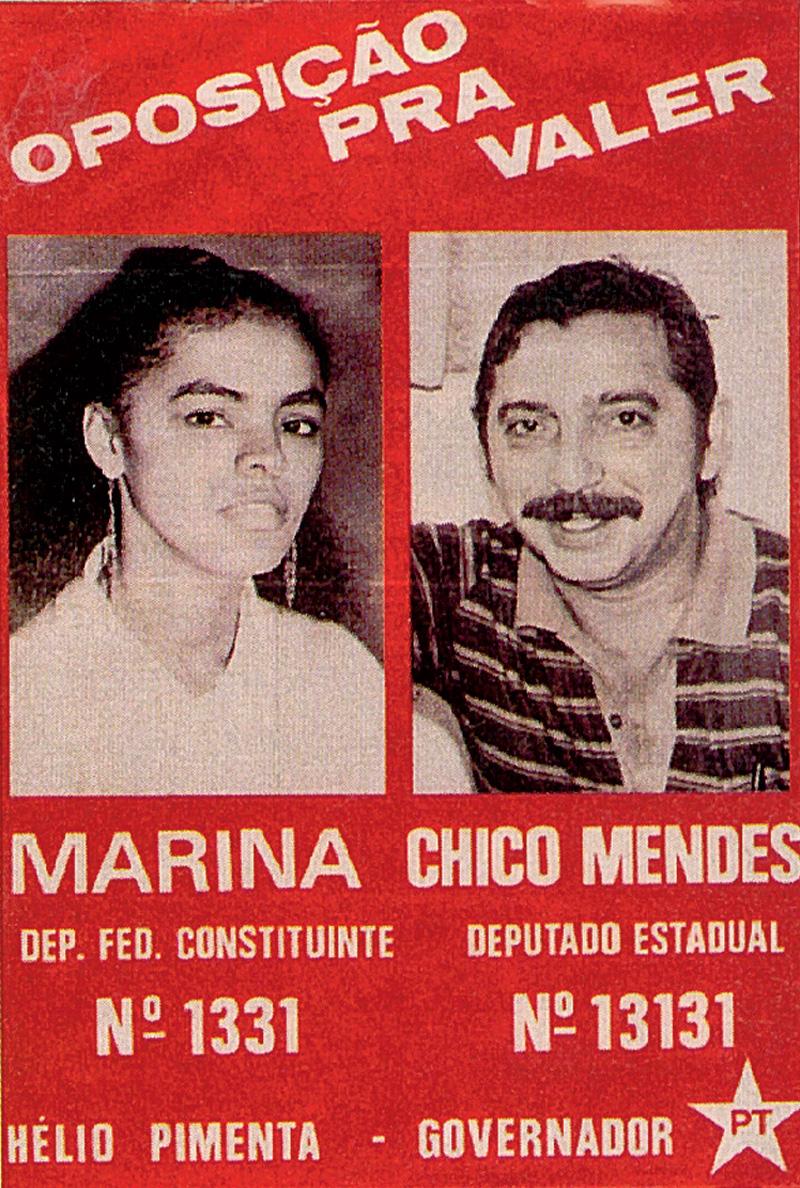 Dobradinha com Chico Mendes, 1986