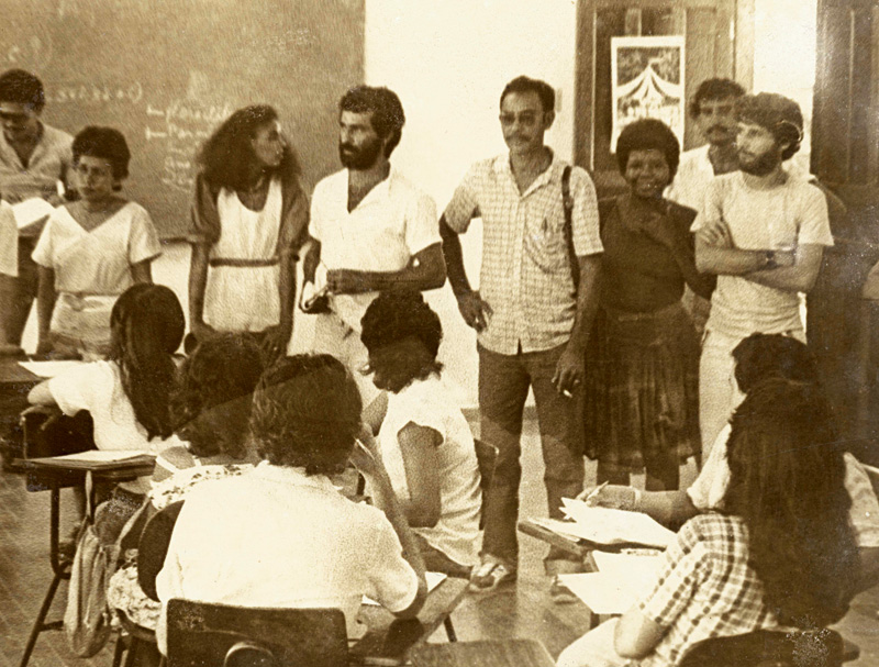 Em 1984, Marina estudava história e era militante política