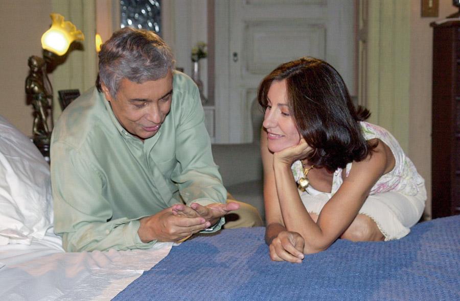 Com Pedro Paulo Rangel em Sabor da Paixão (2002)