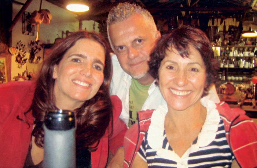 Com Ulysses Cruz e Malu Mader em 2007