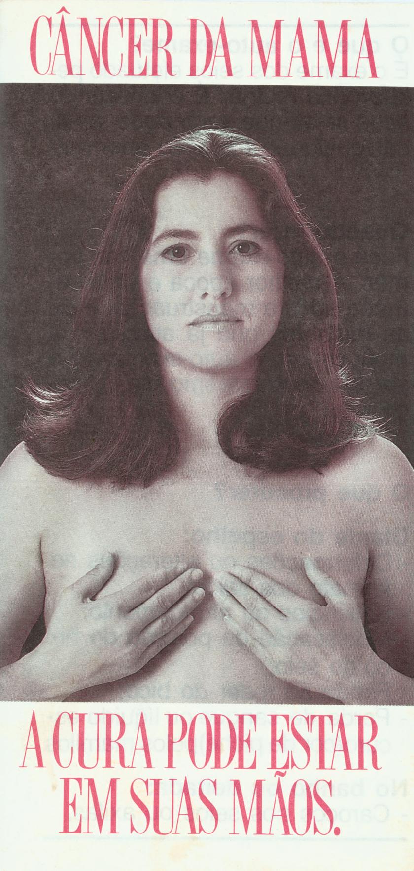 Em sentido horário: aos 31 anos e de peito aberto, 1989