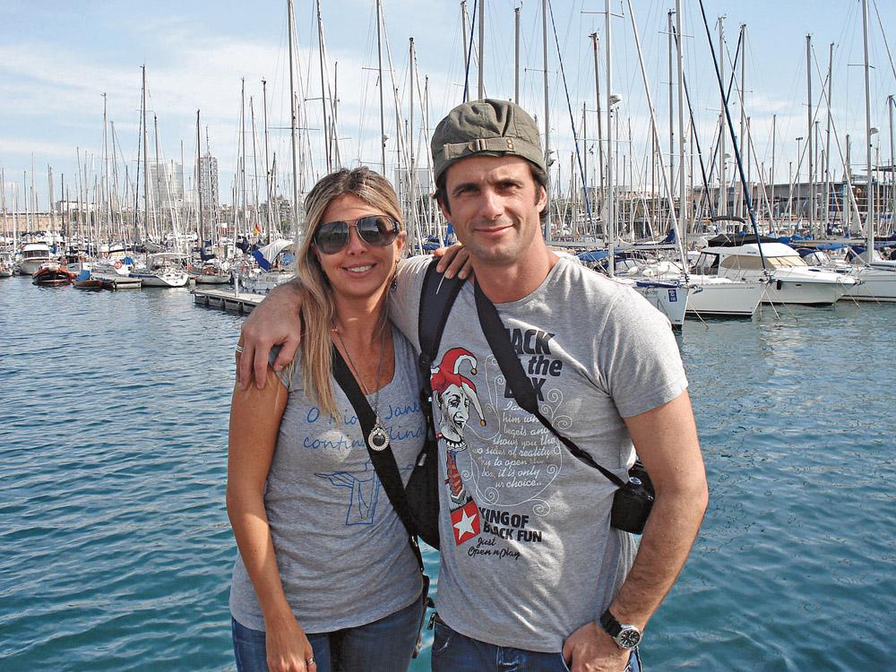 Com André, em Barcelona, 2008