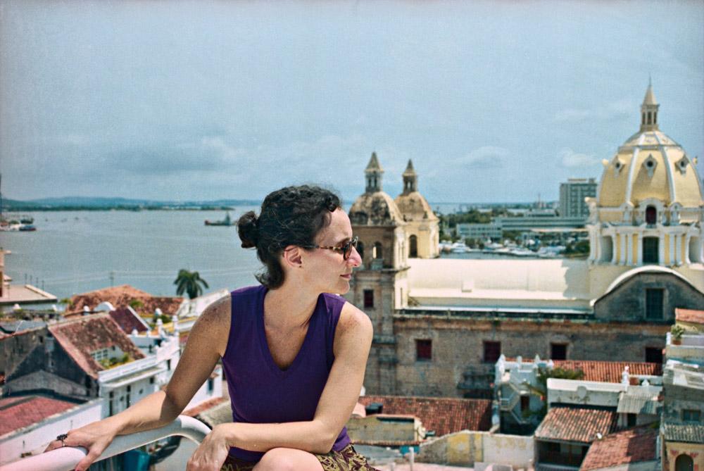 Cartagena do alto dá a dimensão da cidade murada