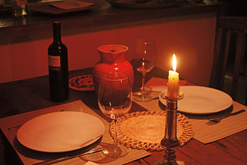21h E um jantar caseiro para acabar bem o dia.