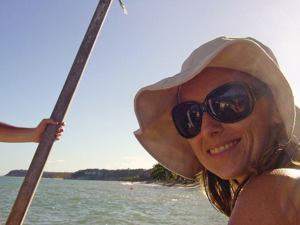 Carol Sganzerla,da Tpm, Caraíva, BA