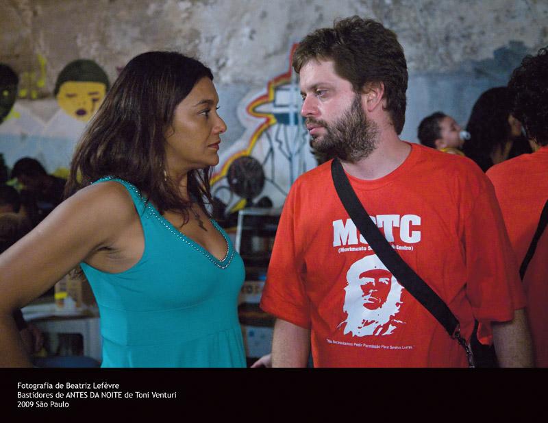 Com o diretor de fotografia do filme, Lula Carvalho
