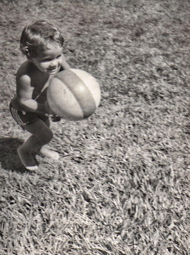 Wagner, aos 4 anos, em Rodelas, cidade de seus pais, no interior da Bahia, onde morou na infância
