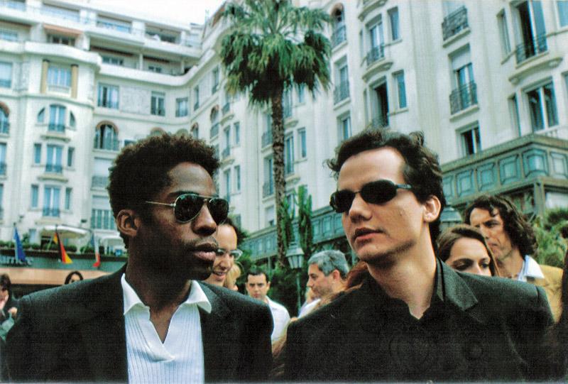 Com Lázaro, em Cannes com Cidade Baixa