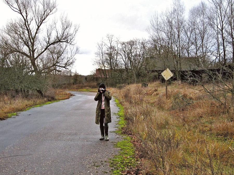 Na zona de exclusão de Chernobyl, em novembro de 2009