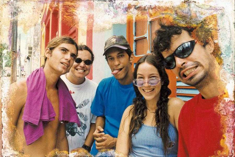 Banda Eddie, em Olinda, em 1996
