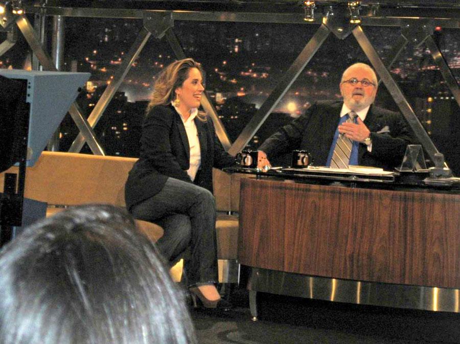 Entrevistada por Jô Soares, em 2009