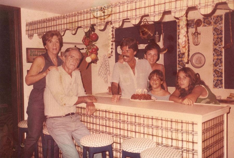 Em 1984, comemorando seu aniversário de 7 anos