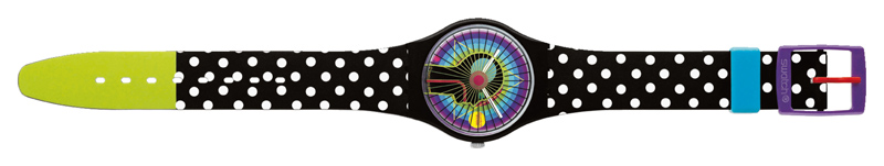 Gary Card para Swatch, R$ 190. Swatch, (11) 3016-4572