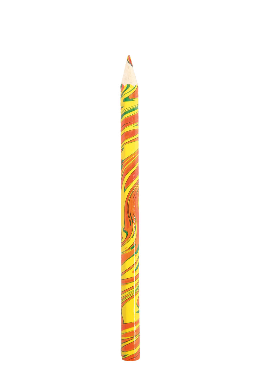 Lápis de cor - Acho maravilhoso poder pintar colorido, como são meus pensamentos.
