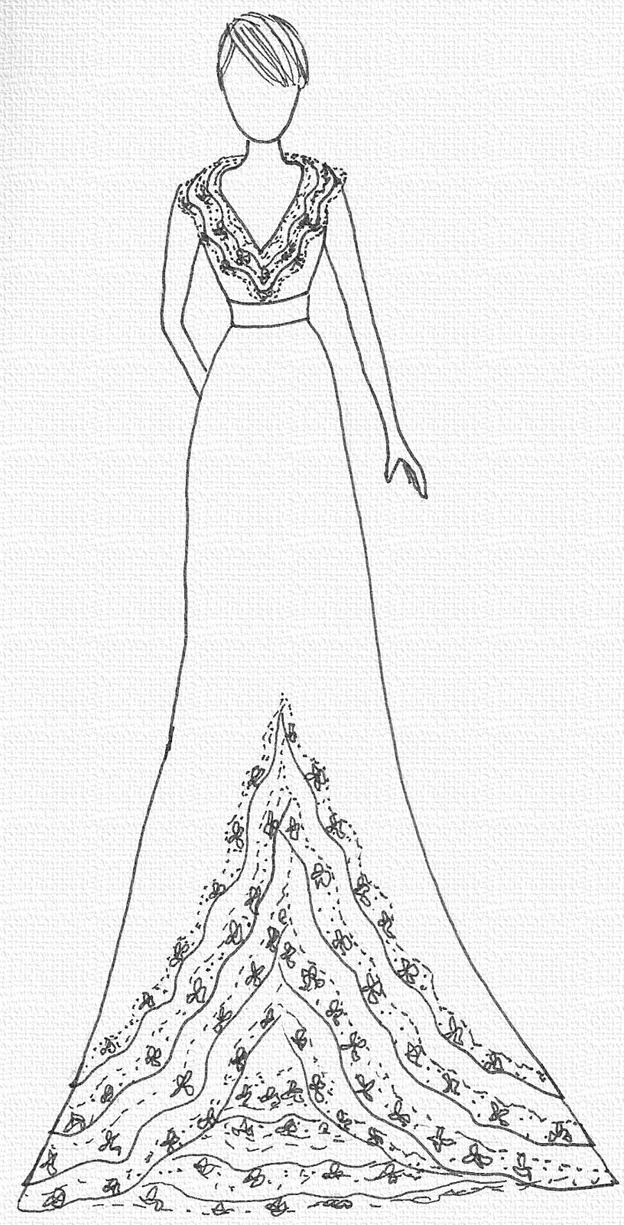 Os vestidos de Bia Andreazza