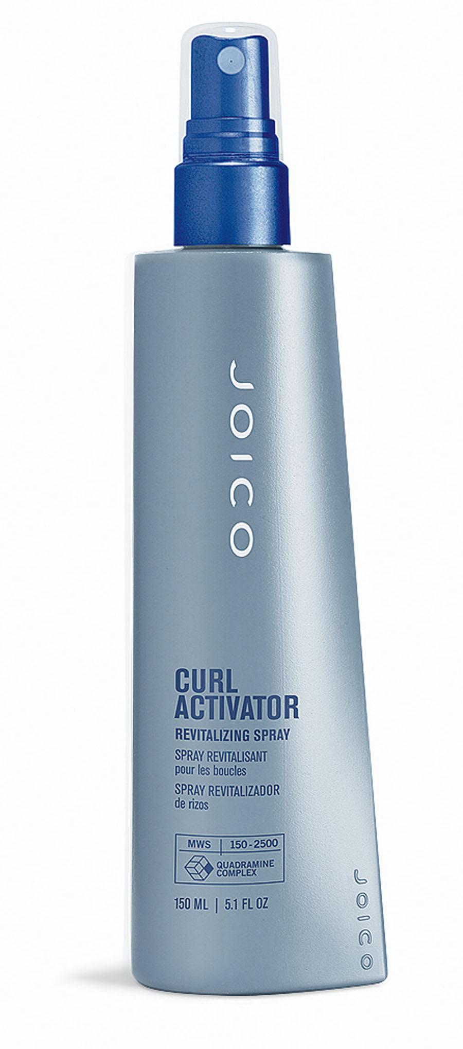 3- Joico Curl Activator Revitalizing Spray, R$ 107: é um finalizador da linha Style & Finish para modelar os cabelos cacheados. Joico (11) 2770-3770